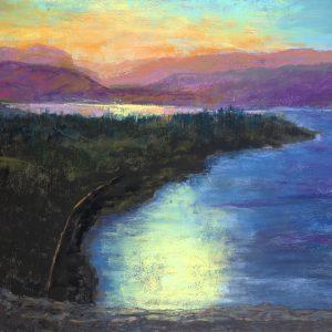 Sunset on the Columbia