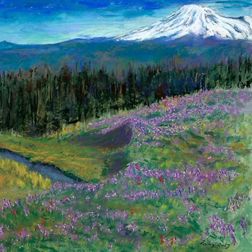 Ed Feeley Fine Art - Mt. Adams