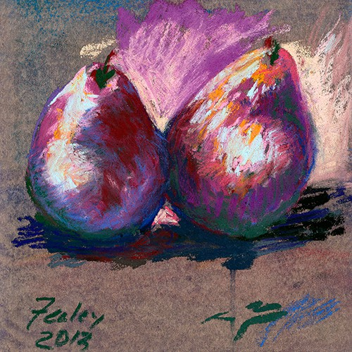 Ed Feeley Fine Art - Pair of Pears