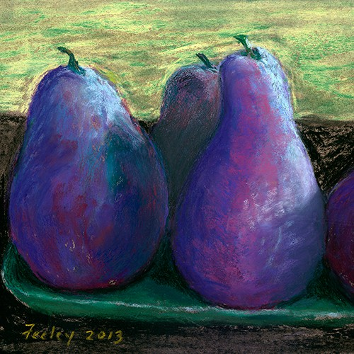 Ed Feeley Fine Art - Purple Pears